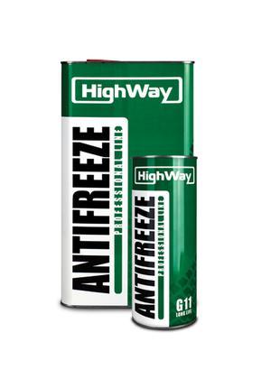 Антифриз LUXOIL LONG LIFE HighWay -40 зеленый 5 кг
