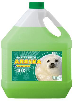 Антифриз LUXOIL LONG LIFE Аляска зеленый 5кг