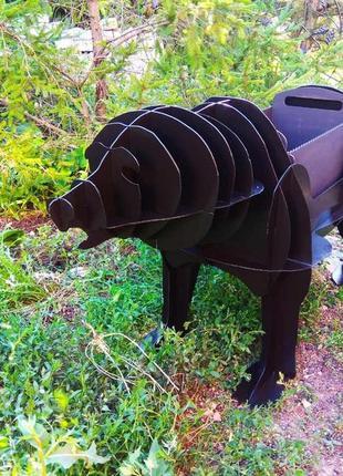 Мангал разборной в форме животных