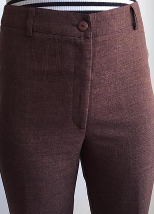 Брюки, штани коричневі.