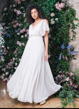 Легкое платье можно на свадьбу