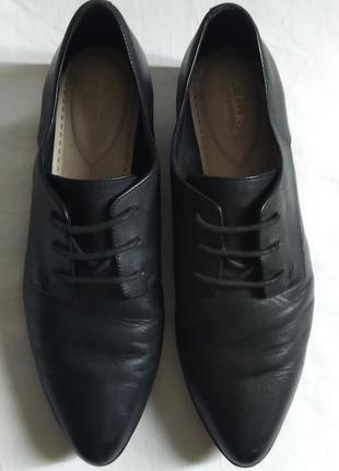 Туфли clarks somerset. размер 41
