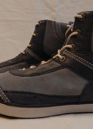 Высокие кеды \ ботинки timberland. размер 8w = 25см