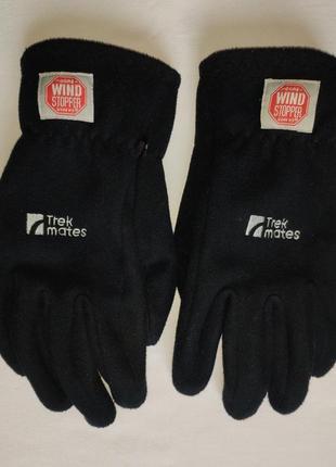 Перчатки trekmates windstopper. size s