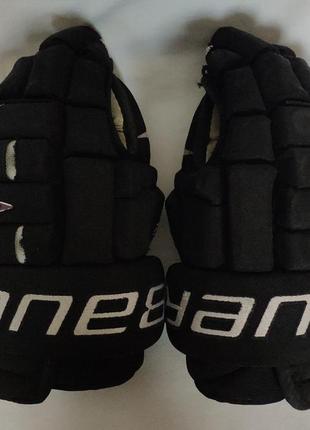 """Перчатки хоккейные bauer bh pro. 14"""""""