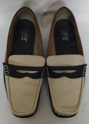 Мокасины туфли hotter. размер 41