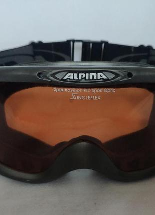 Очки маска alpina горнолыжная