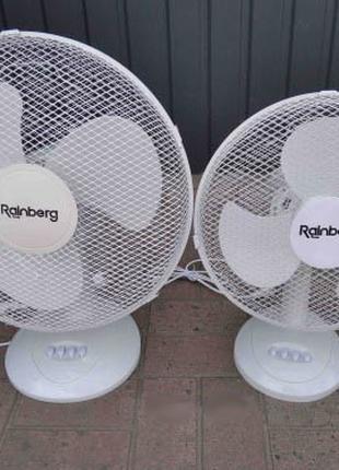 Вентилятор настільний Rainberg RB-09 3 швидкості 20 Ватт 23 См.