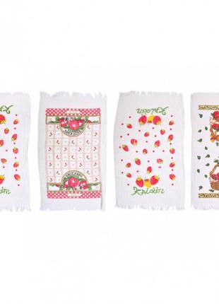 Полотенце для кухни 35×60 см натуральное волокно