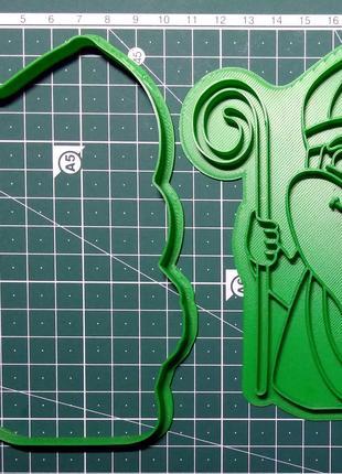Святой Николай. Форма для печенья и пряников