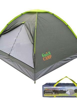 Палатка 3-х местная GreenCamp 1012.