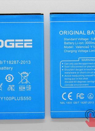 Аккумулятор для Doogee Y100 Plus Valencia 2 (9100185)