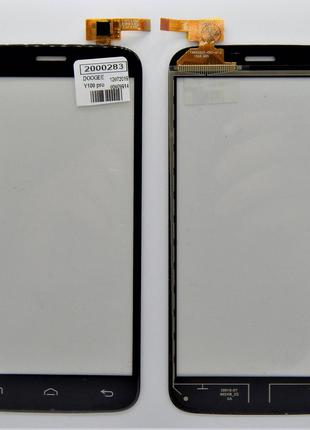 Сенсор для телефона Doogee y100 Valencia Pro Черный (2000324)