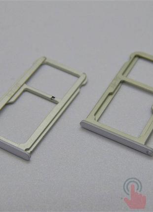 SIM лоток для Huawei P9 White (8200057W)