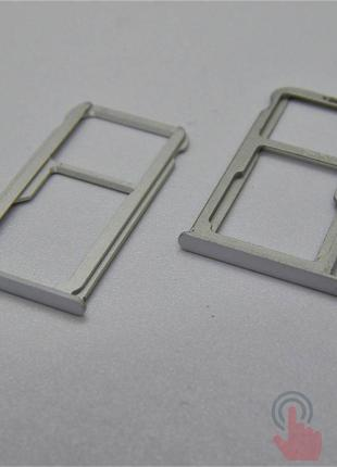 SIM лоток для Huawei P9 plus White (8200064W)