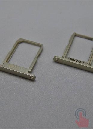 SIM лоток для Samsung G920F Galaxy S6 Gold
