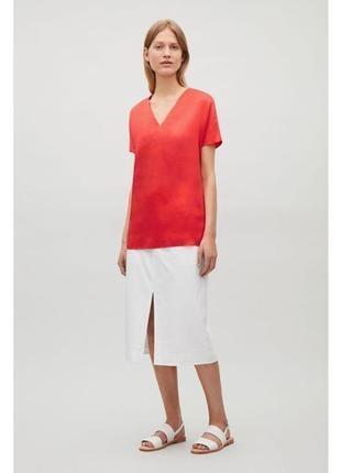 Шелковая блуза, блузка cos