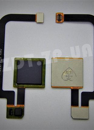 Шлейф отпечатка пальца для Xiaomi Mi Max 2 Black rev.1 (730019...