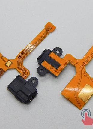 Шлейф с компонентами для Nokia Lumia 640 XL (handsfree)