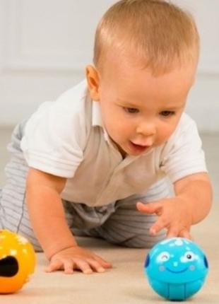 Крутящийся мячик BeBeLino Животное 58155, для детей от 1 года,...