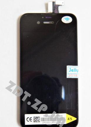 Дисплейный модуль для iPhone 4s hi copy Black (5000566B)