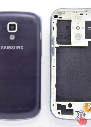 Корпус для Samsung S7562 Galaxy S Duos Blue (8000085Dbl+)