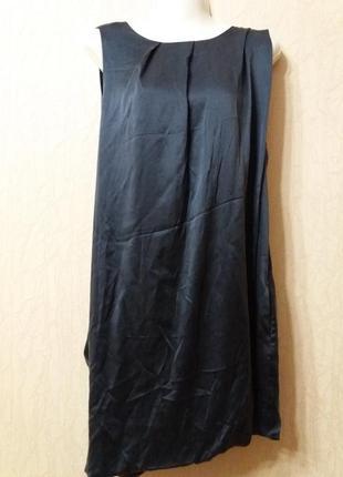 Коктельное платье с драпировкой бренд---axara--14\ 16р с откры...