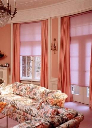 Тканевые ролеты, шторы, карнизы
