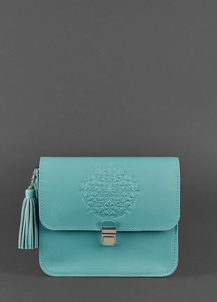 Бохо-сумка Лилу из кожи ручной работы
