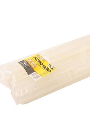 Стержни клеевые 7,2*200 мм, 1 кг, прозрачные (пакет) MASTERTOO...