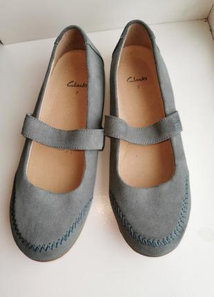 """Оригинальные мокасины, туфли """"clarks"""""""