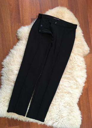 Трикотажные брюки со стрелочкой