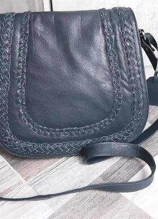 Кожаная сумка кроссбоди  taurus. новая
