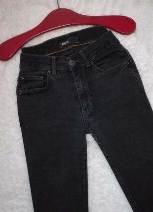 Черные джинсы высокой посадки размер xs-s angels
