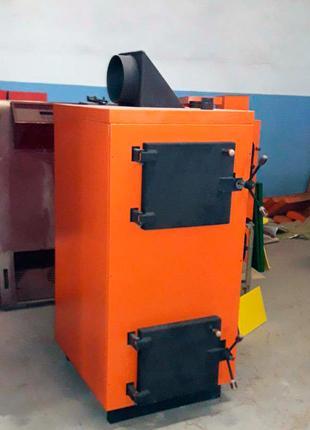 Воздухогрейный котел для дома 25кВт пирозизный с максимальным КПД