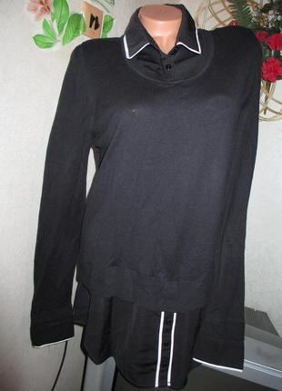 Стильная блуза обманка