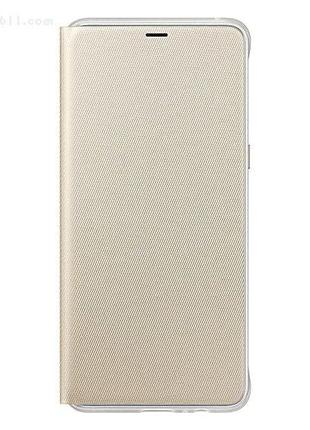 Чехол для смартфона Samsung A8 (2018) Neon Flip Cover Gold