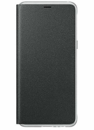 Чехол для смартфона Samsung A8 (2018) Neon Flip Cover Black
