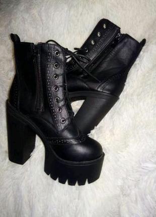 "Ботинки ""Meidier"", р-р 36,5"