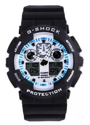 Неубиваемые спортивные наручные часы Casio G-shock GA-100