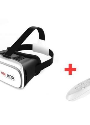 Шлем 3D VR BOX+ПУЛЬТ В ПОДАРОК! Очки Виртуальной реальности