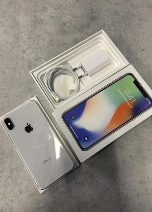 iPhone X, Silver, 64gb, Neverlock