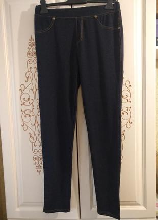 Женские лосины под джинс