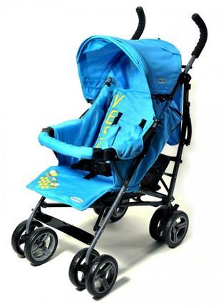 Детская Коляска прогулочная TILLY Vespa голубая