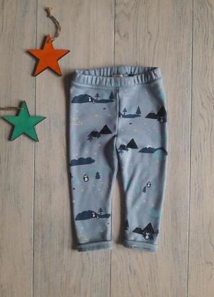 Тепленькие штанишки h&m