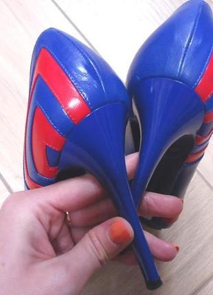 Туфли alexander mcqueen кожа оригинал, италия, брендовые