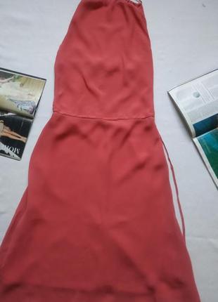 """Кораллово-розовый длинный сарафан из вискозы """"coast"""""""