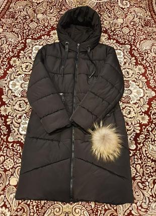 Зимняя куртка пуховик 52  размер
