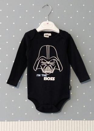 Боди/бодик star wars/kiabi (франция) на 12-18 месяцев (размер ...
