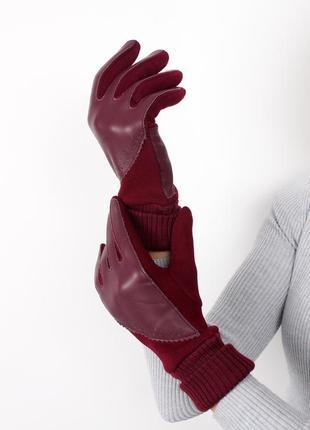 Жіночі рукавички трикотажні сенсорні
